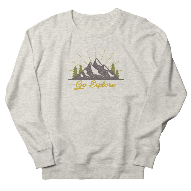 Go Explore Women's Sweatshirt by The Bearly Brand