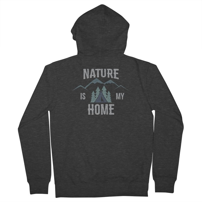 Nature Is My Home Women's Zip-Up Hoody by The Bearly Brand