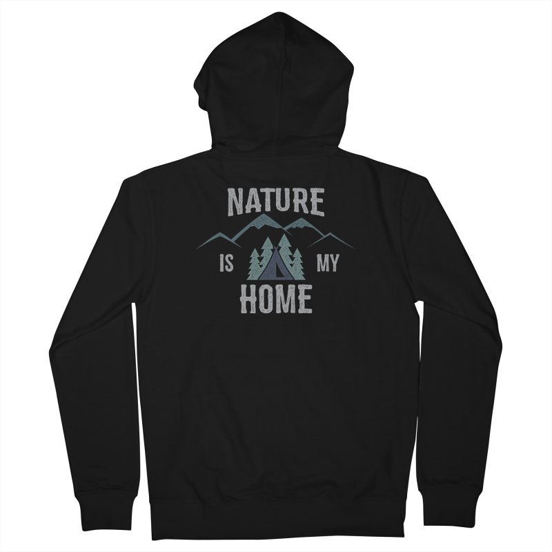 Nature Is My Home Men's Zip-Up Hoody by The Bearly Brand