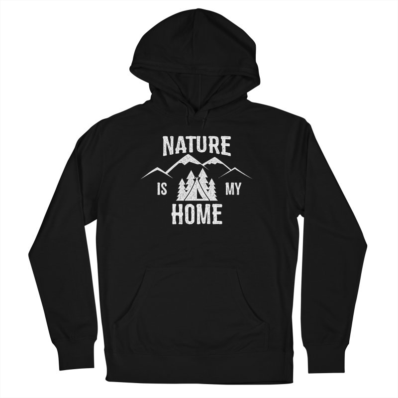Nature Is My Home Men's French Terry Pullover Hoody by The Bearly Brand