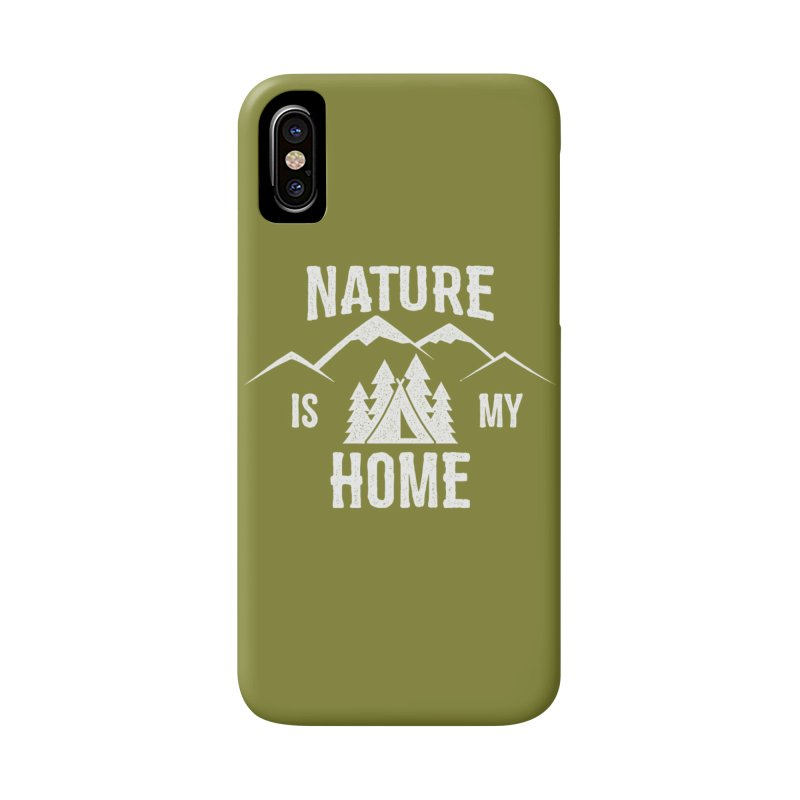 Nature Is My Home Accessories Phone Case by The Bearly Brand