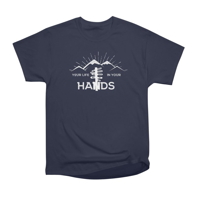 Your Life In Your Hands Men's Heavyweight T-Shirt by The Bearly Brand