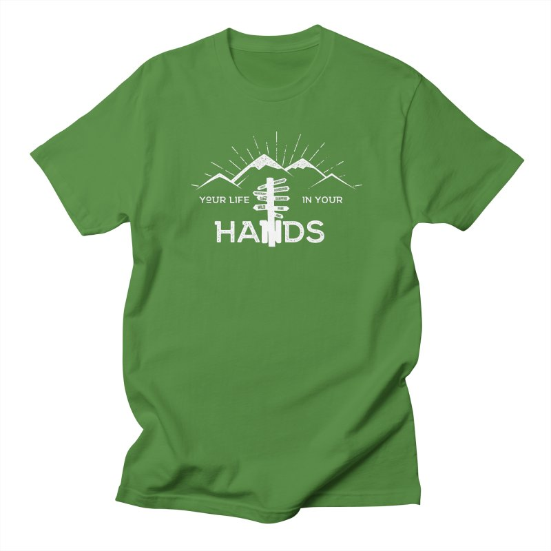 Your Life In Your Hands Men's Regular T-Shirt by The Bearly Brand