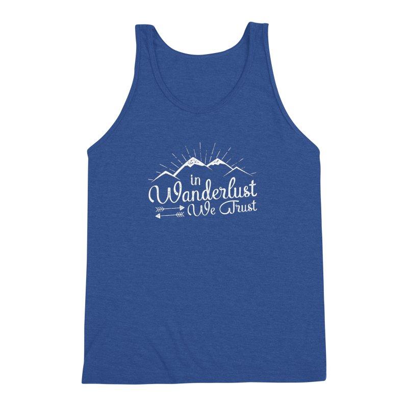 In Wanderlust We Trust Men's Tank by The Bearly Brand
