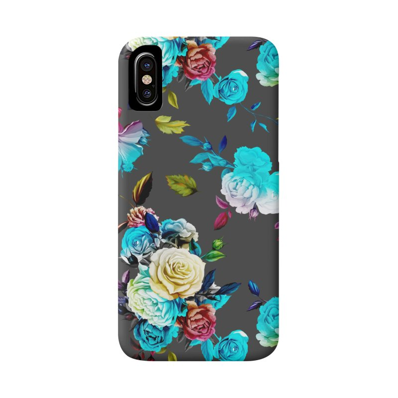 Summer Floral Bear Accessories Phone Case by The Bearly Brand