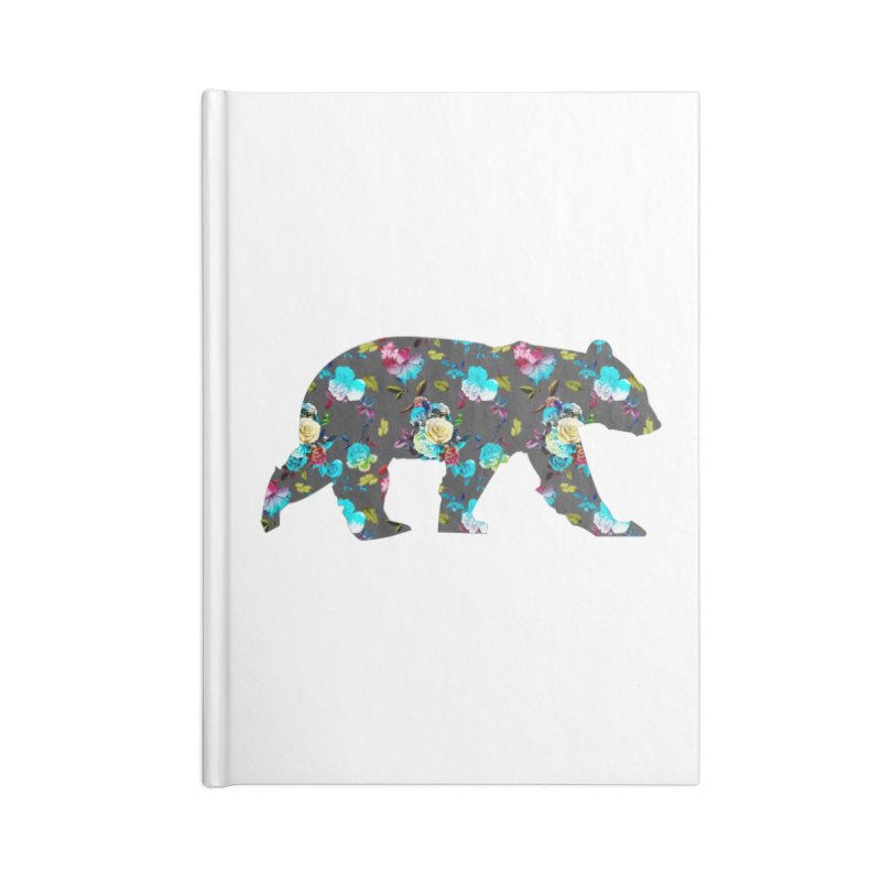 Summer Floral Bear Accessories Notebook by The Bearly Brand