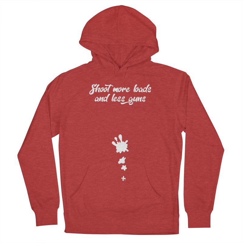 Shoot More Loads Men's French Terry Pullover Hoody by The Bearly Brand