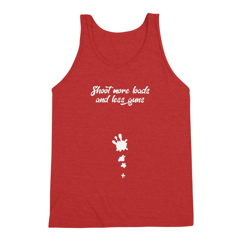 Shoot More Loads Men's Triblend Tank by The Bearly Brand