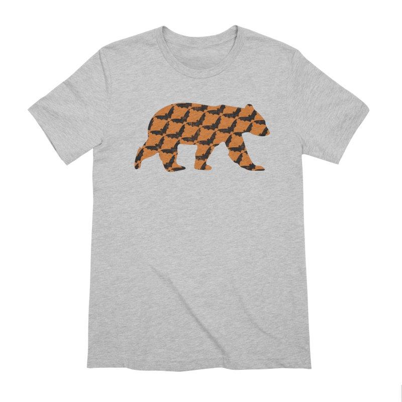 Bat Bear Men's Extra Soft T-Shirt by The Bearly Brand