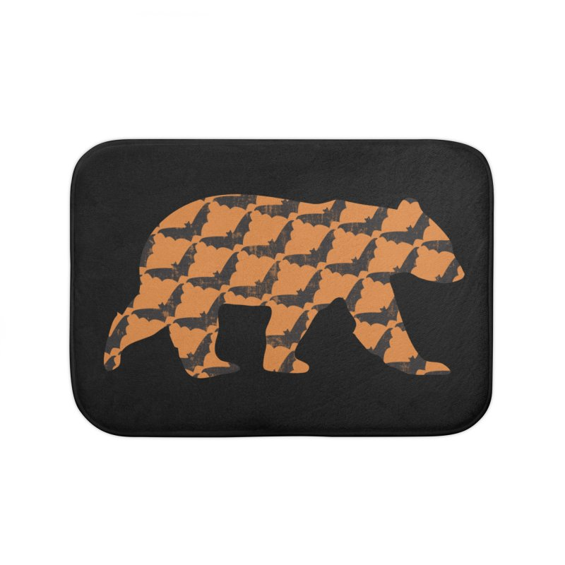 Bat Bear Home Bath Mat by The Bearly Brand