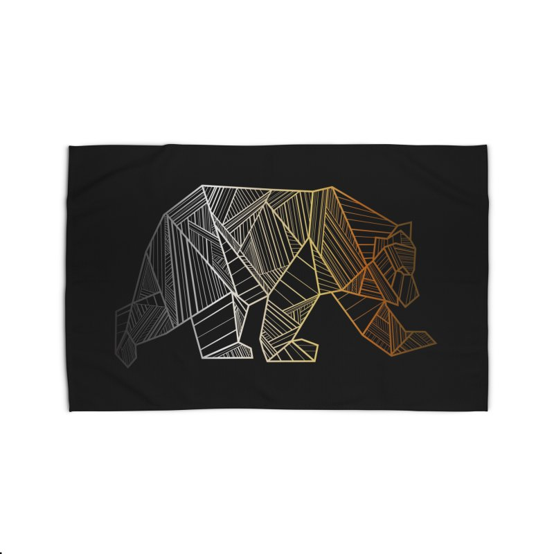 Geometric Bear Pride LGBTQ+ Home Rug by The Bearly Brand