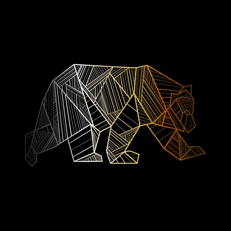 Geometric Bear Pride LGBTQ+ by The Bearly Brand