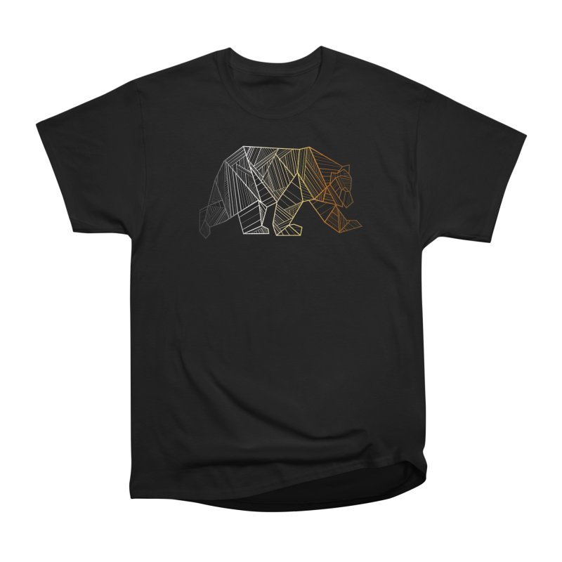 Geometric Bear Pride LGBTQ+ Men's T-Shirt by The Bearly Brand
