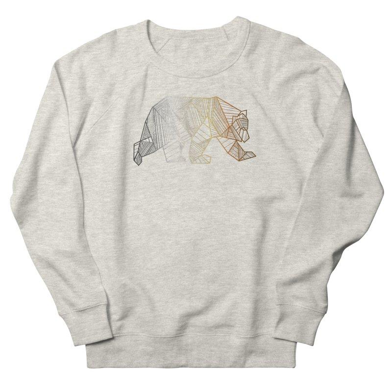 Geometric Bear Pride LGBTQ+ Men's French Terry Sweatshirt by The Bearly Brand