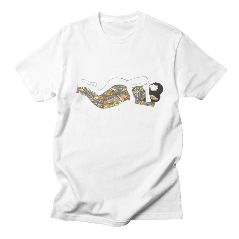 aldhil's arboretum in Men's T-Shirt White by thebeewithwheels's Artist Shop