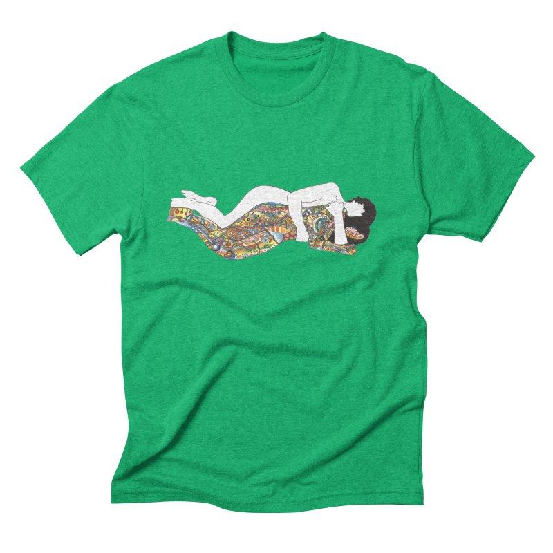 aldhil's arboretum Men's Triblend T-shirt by thebeewithwheels's Artist Shop