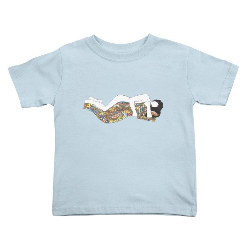 aldhil's arboretum Kids Toddler T-Shirt by thebeewithwheels's Artist Shop