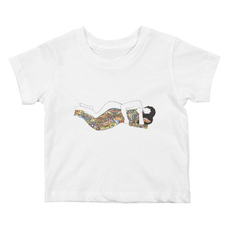 aldhil's arboretum Kids Baby T-Shirt by thebeewithwheels's Artist Shop