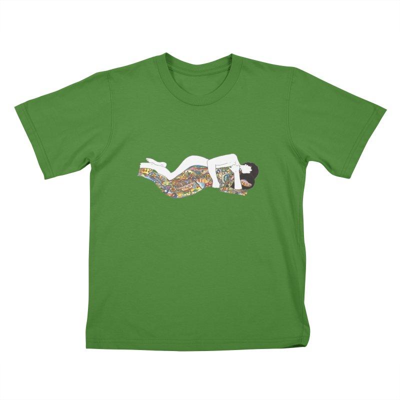 aldhil's arboretum Kids T-Shirt by thebeewithwheels's Artist Shop