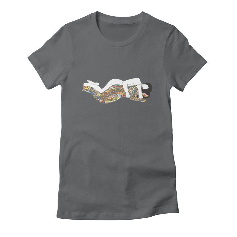 aldhil's arboretum Women's Fitted T-Shirt by thebeewithwheels's Artist Shop