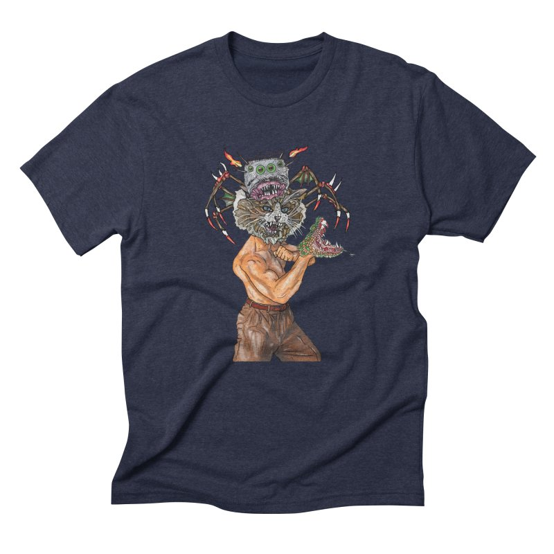 vicious delicious Men's Triblend T-shirt by thebeewithwheels's Artist Shop