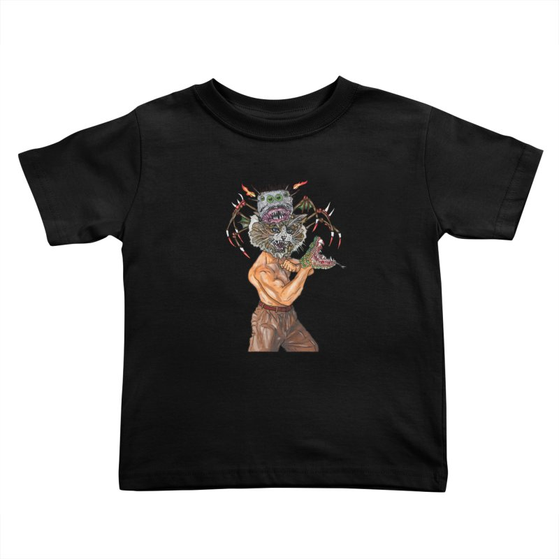 vicious delicious Kids Toddler T-Shirt by thebeewithwheels's Artist Shop