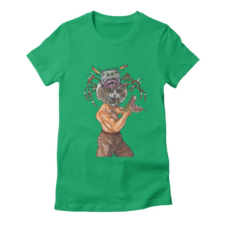 vicious delicious Women's Fitted T-Shirt by thebeewithwheels's Artist Shop