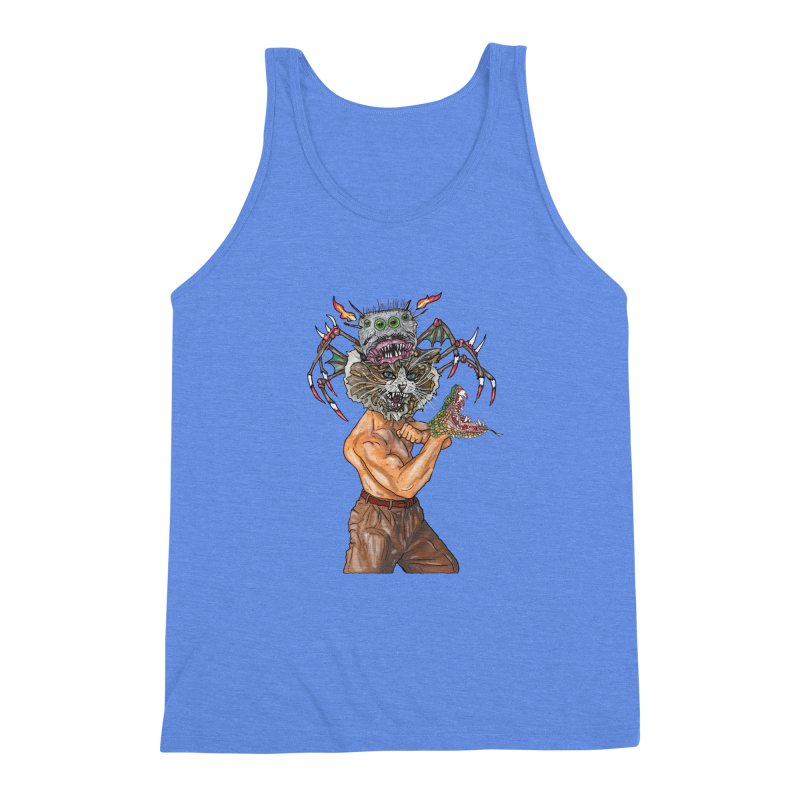 vicious delicious Men's Triblend Tank by thebeewithwheels's Artist Shop