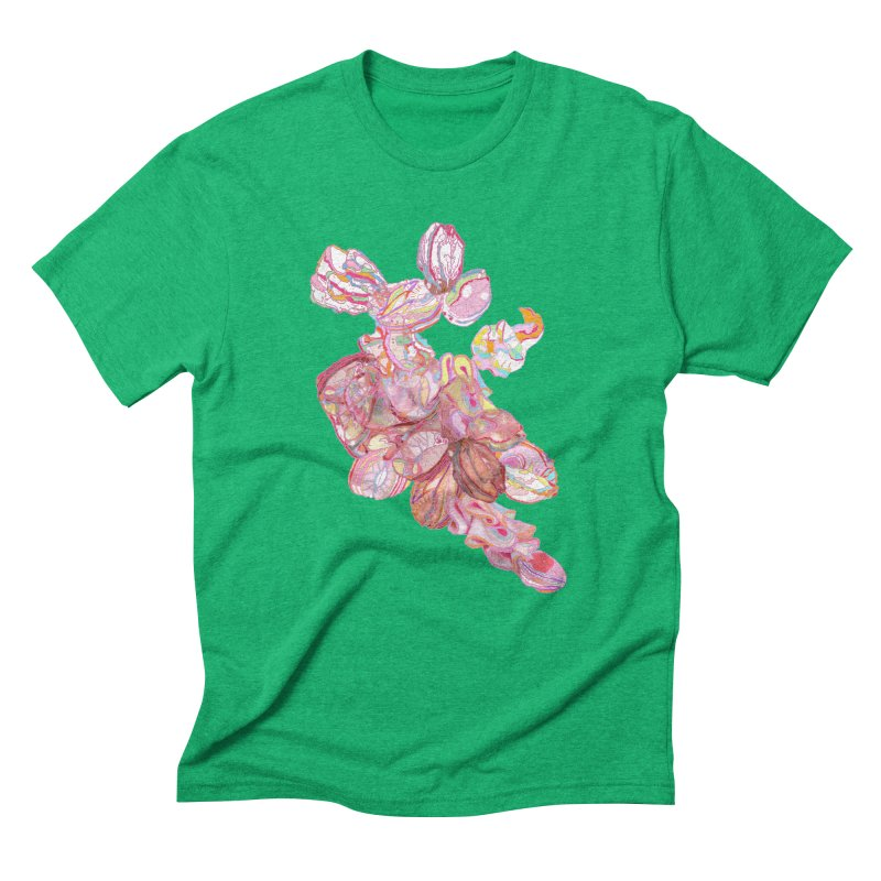 ghostly ham dreams Men's Triblend T-shirt by thebeewithwheels's Artist Shop