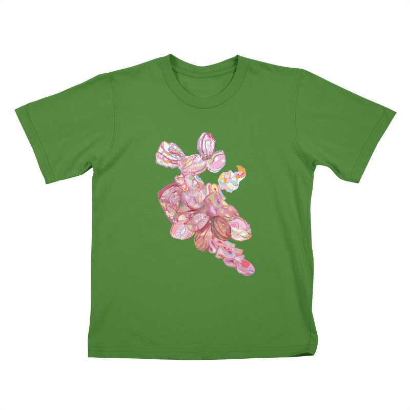 ghostly ham dreams Kids T-Shirt by thebeewithwheels's Artist Shop