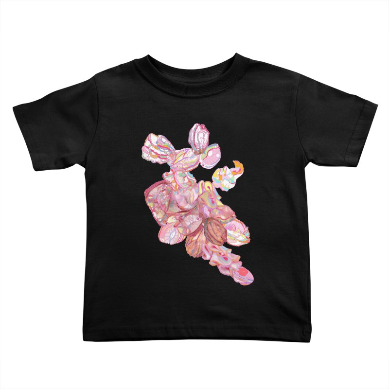 ghostly ham dreams Kids Toddler T-Shirt by thebeewithwheels's Artist Shop