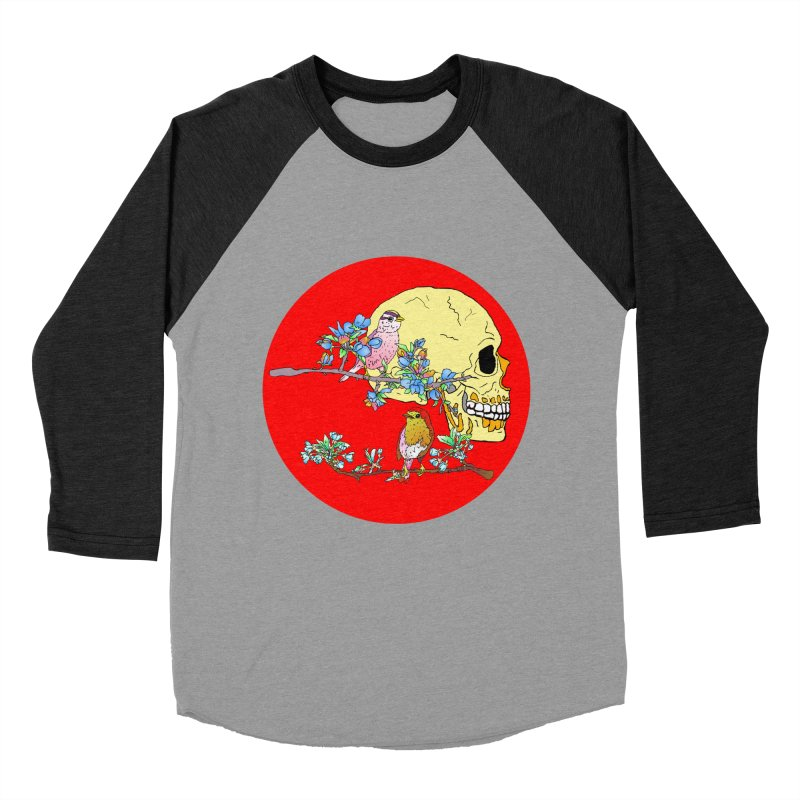 notice life before death Men's Baseball Triblend T-Shirt by thebeewithwheels's Artist Shop