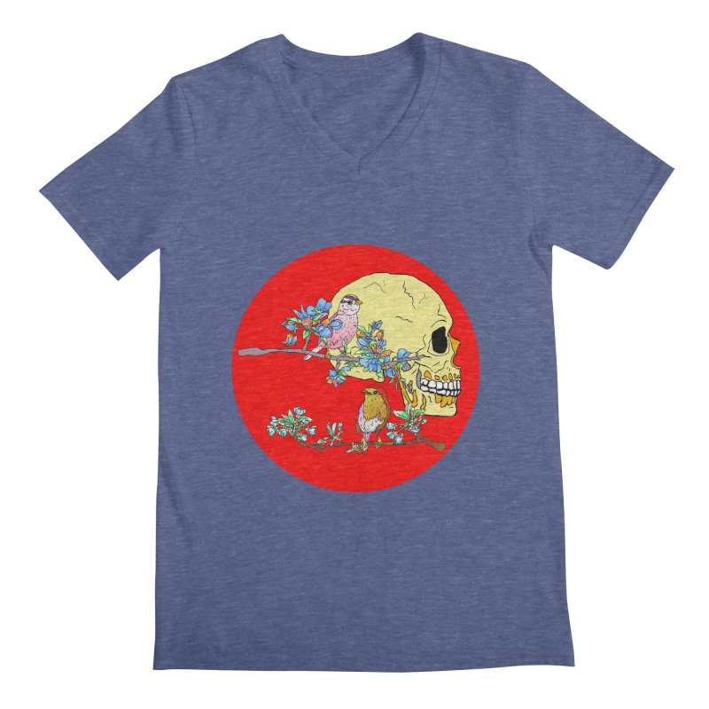 notice life before death Men's V-Neck by thebeewithwheels's Artist Shop