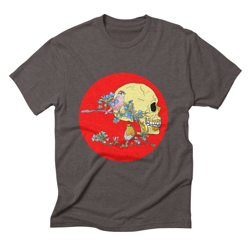notice life before death Men's Triblend T-shirt by thebeewithwheels's Artist Shop