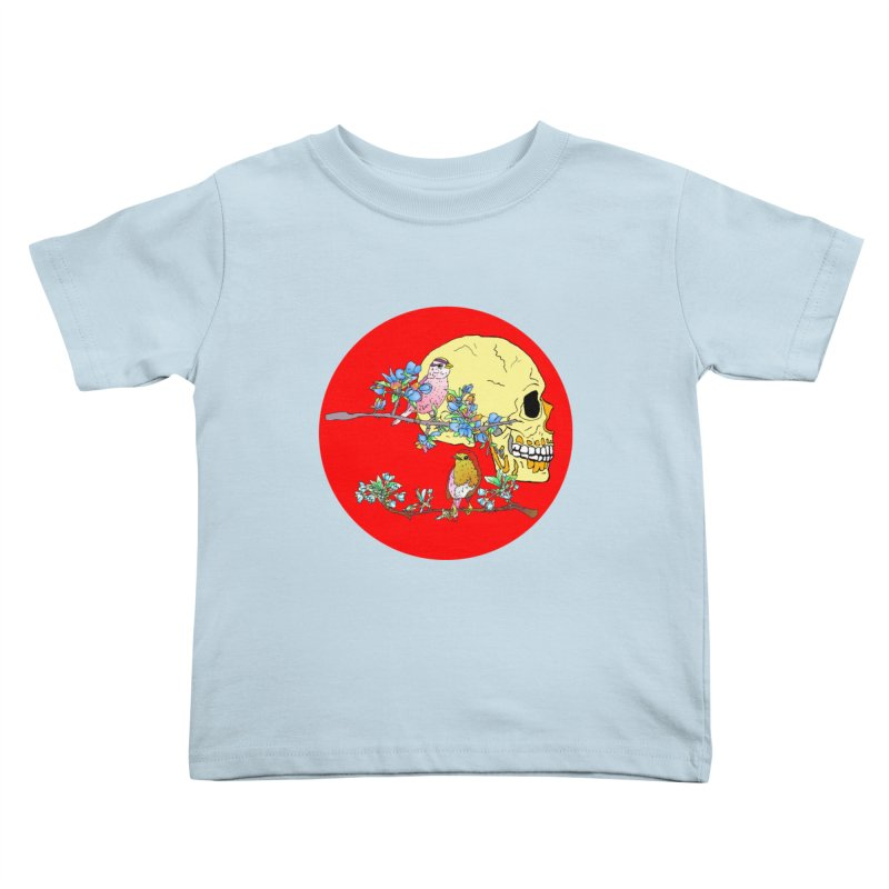 notice life before death Kids Toddler T-Shirt by thebeewithwheels's Artist Shop