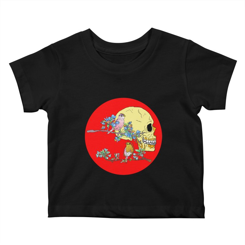 notice life before death Kids Baby T-Shirt by thebeewithwheels's Artist Shop
