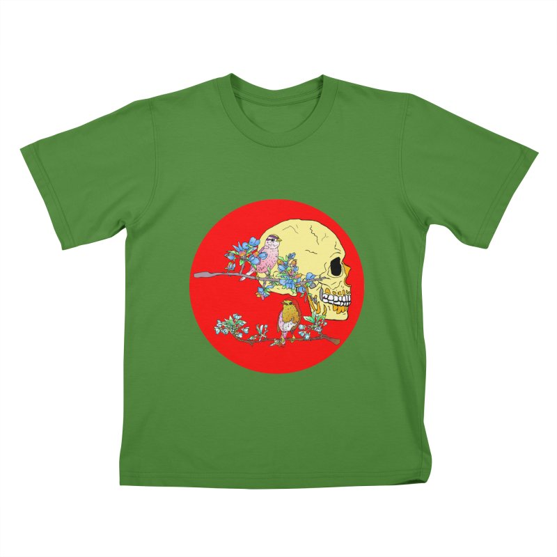 notice life before death Kids T-shirt by thebeewithwheels's Artist Shop