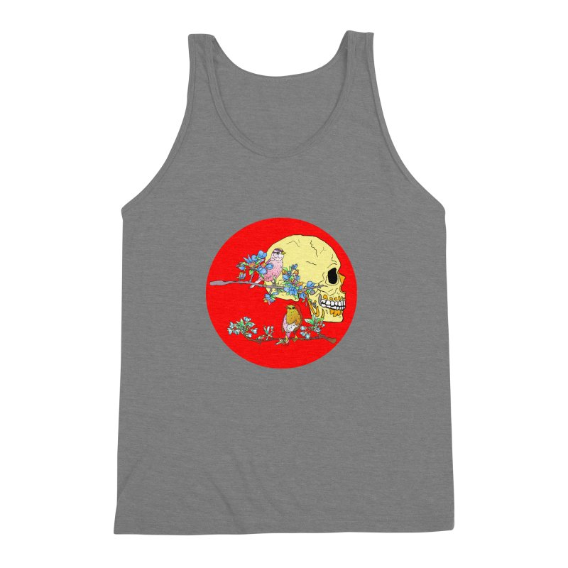notice life before death Men's Triblend Tank by thebeewithwheels's Artist Shop