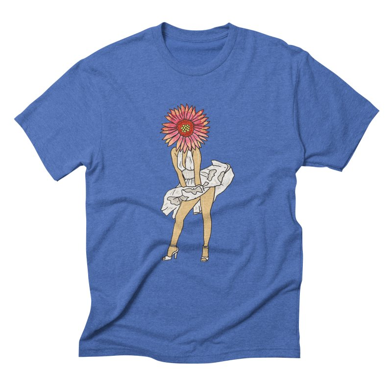oooooooh pollen  Men's Triblend T-shirt by thebeewithwheels's Artist Shop