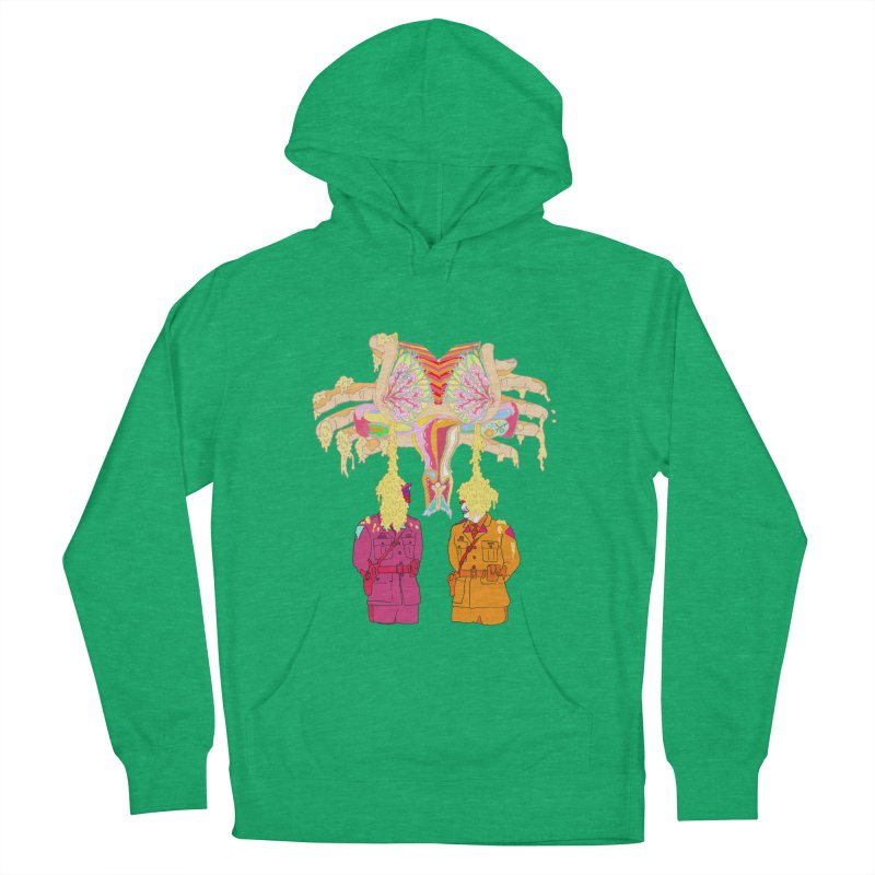 be proud of the power Women's Pullover Hoody by thebeewithwheels's Artist Shop