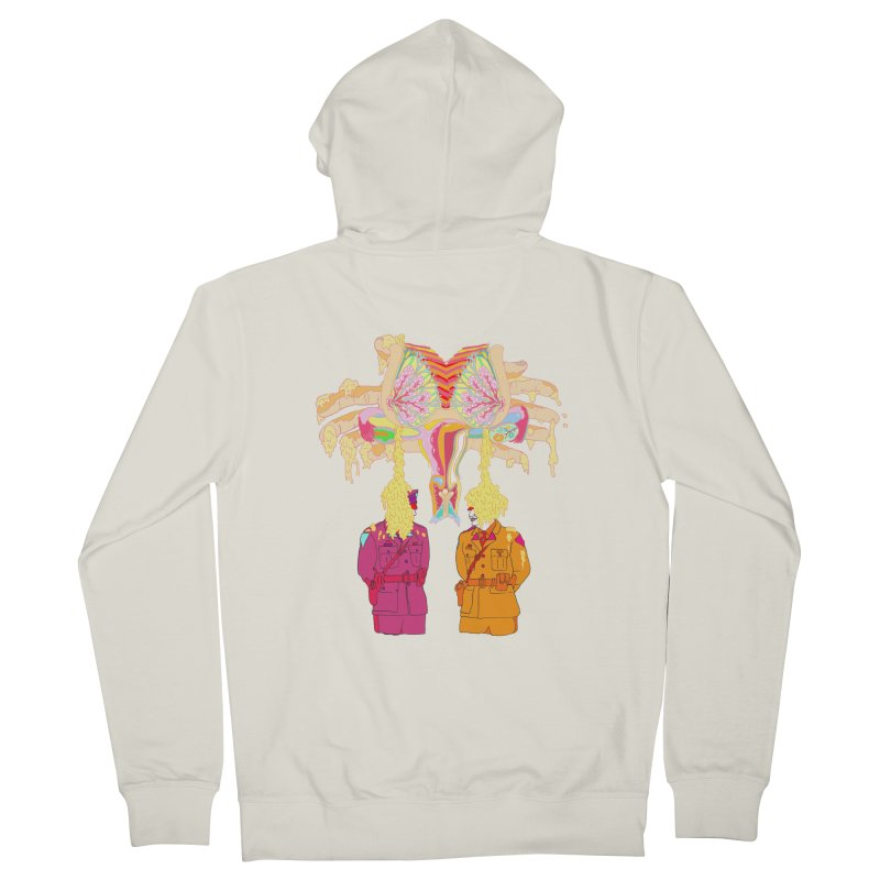 be proud of the power Women's Zip-Up Hoody by thebeewithwheels's Artist Shop