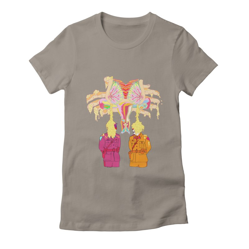 be proud of the power Women's Fitted T-Shirt by thebeewithwheels's Artist Shop