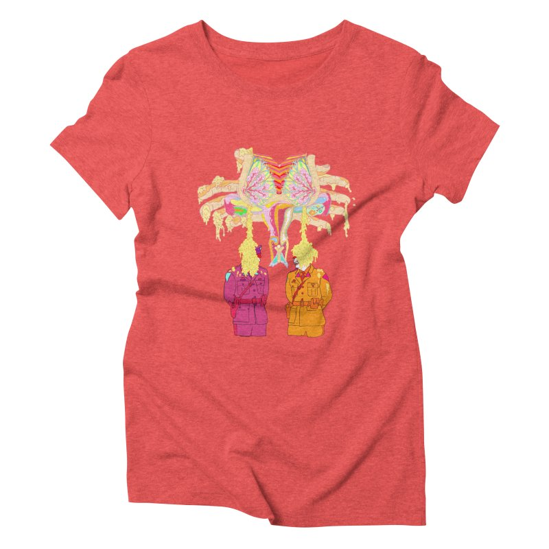 be proud of the power Women's Triblend T-shirt by thebeewithwheels's Artist Shop