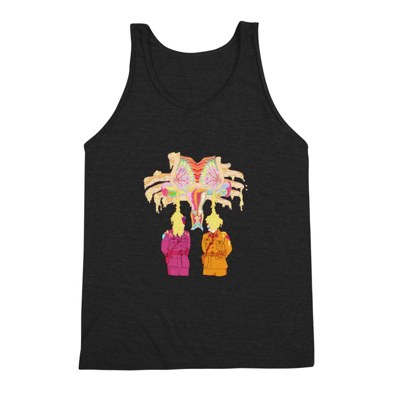 be proud of the power Men's Triblend Tank by thebeewithwheels's Artist Shop