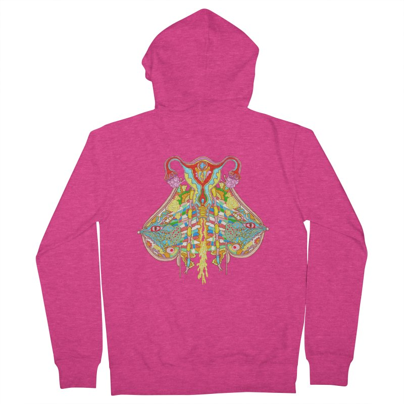 all natural power and glory Women's Zip-Up Hoody by thebeewithwheels's Artist Shop