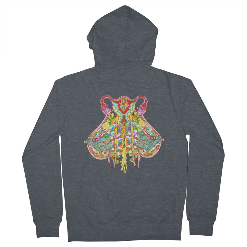 all natural power and glory Men's Zip-Up Hoody by thebeewithwheels's Artist Shop