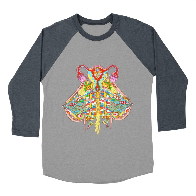 all natural power and glory Women's Baseball Triblend T-Shirt by thebeewithwheels's Artist Shop