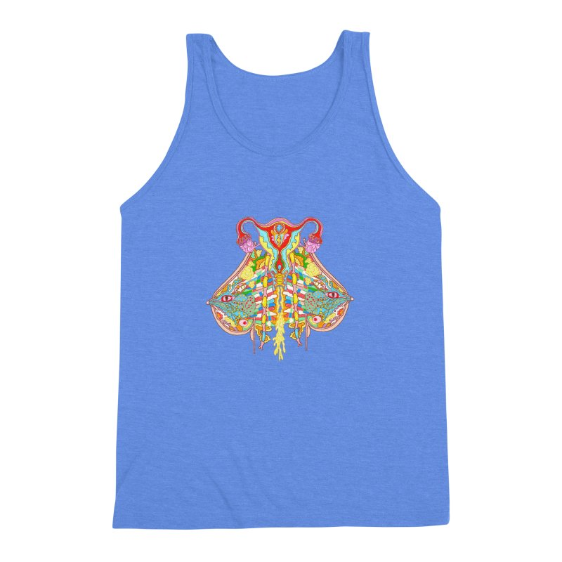 all natural power and glory Men's Triblend Tank by thebeewithwheels's Artist Shop