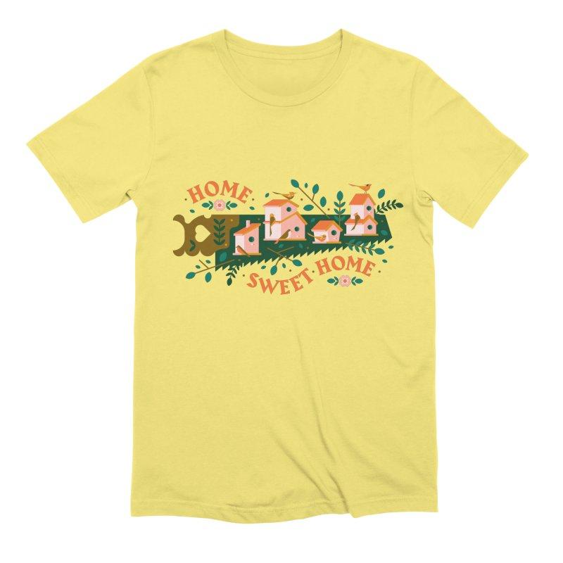 Home Sweet Home Men's Extra Soft T-Shirt by Brian Rau's Artist Shop