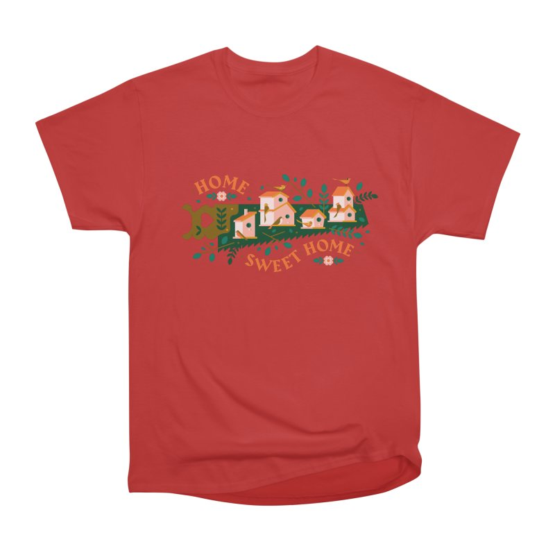 Home Sweet Home Men's Heavyweight T-Shirt by Brian Rau's Artist Shop